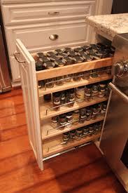 kitchen cabinet spice racks cabinet pull out spice rack design decoration
