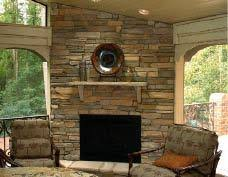 fireplaces in porches professional deck builder fireplaces