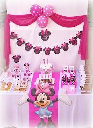 minnie mouse birthday decorations kara s party ideas disney minnie mouse girl pink 2nd birthday party