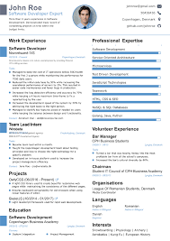 Forbes Resume Template