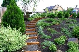 Slope Landscaping Ideas For Backyards Landscaping Ideas For Steep Hillside Landscaping Ideas Backyard