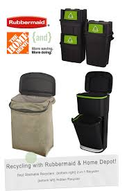 Rubbermaid The Home Depot Happy Recycling Day Recycling With Rubbermaid U0026 The Home Depot