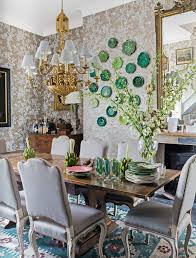 themed dining room traditional garden dining room style interiors by color