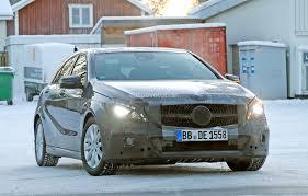 lifted mercedes spyshots 2015 mercedes benz a class facelift autoevolution