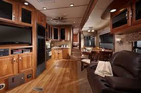 5th wheel with living room in front front living room fifth wheel models cozy ideas with all dining 18