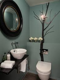 Powder Room Decor Bathroom Design Contemporary Powder Room Decorating Ideas With