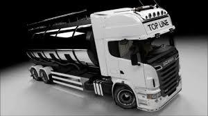 scania trucks steps of modeling