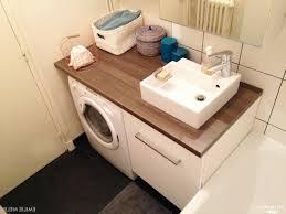 salle de bain avec meuble cuisine beautiful fabriquer meuble salle de bain plan de travail