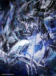 dark magician vs blue eyes white dragon by andytantowibelzark