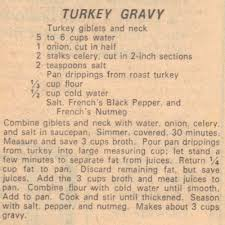 turkey gravy my southern grandmother always added a thinly sliced