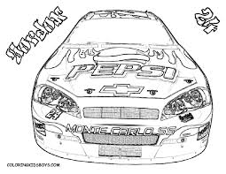 nascar coloring pages to print coloring of nascar dale earnhardt