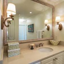 Large Framed Bathroom Mirror Photos Hgtv