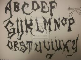 scary font halloween pinterest scary and fonts