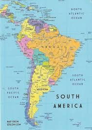 best 25 south america map ideas on america map
