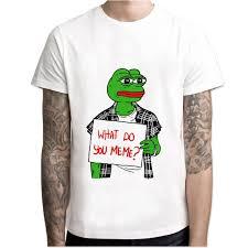 Tshirt Meme - memes pepe meme t shirt men t shirt fashion t shirt o neck white