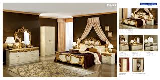 Bedroom Furniture Stores Nyc by Barocco Bedroom Set In Ivory Gold 3 186 00 Furniture Store