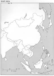 Asia Map Blank by South East Asia Map Blank