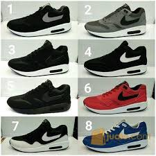 Sepatu Nike Air sepatu nike airmax one cowok cowo pria air max 1 running