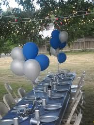 denim and diamonds party then next on a tree we had nailed