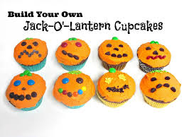 Halloween Party Activity Ideas by Build Your Own Jack O U0027 Lantern Cupcakes A Fun Halloween Party