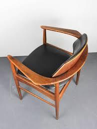 bedroom fabulous mid century modern chair in teak wood rocking