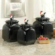 rooster kitchen canister sets black ceramic kitchen canisters large size of sugar tea and coffee