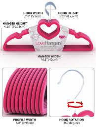 Childrens Coat Hangers Amazon Com Velvet Clothes Hangers Premium Quality Super Slim