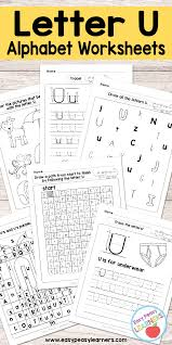 printable alphabet line letter u worksheets alphabet series easy peasy learners