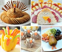 turkey themed thanksgiving appetizers roundup