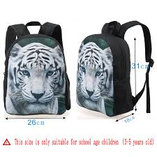 kindergarten backpack pattern new 3d child backpack pattern mini children school bags cool