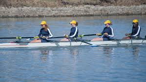 women splash into new sport as part of novice rowing team the