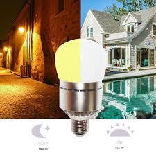 Westek Slc6cbc 4 100w Programmable by Dusk To Dawn Energy Saving Sensor Led Light Bulb Automatic On And