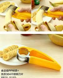 coupe banane cuisine cuisine pratique outils creative vert banane trancheuse fruits