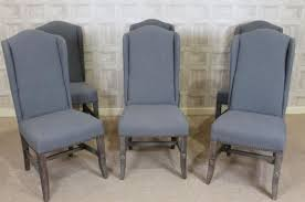 Dining Chair Upholstered Black And Grey Upholstered Dining Chairs Bed And Shower