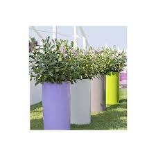 vaso resina bianco vaso mod hicil h 53 linea vasar by telcom articoli per