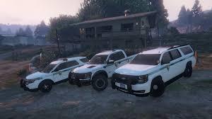 Ford Raptor Police Truck - 4k us park ranger and us forest ranger skins for ford explorer