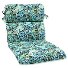 Outdoor Furniture Cushions Amazon Com Pillow Perfect Outdoor Pretty Paisley Rounded Corners
