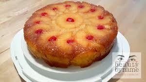 pineapple upside down cake beautybyname