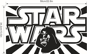 star wars wall stickers for bedrooms descargas mundiales com
