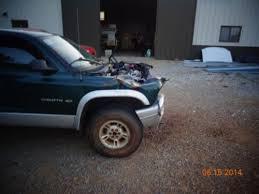 wrecked dodge dakota for sale buy used 2002 dodge dakota crew cab 4x4 wrecked salvage damaged