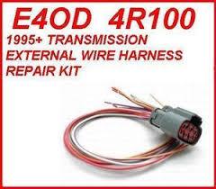 4r100 e4od transmission external solenoid harness repair kit fits