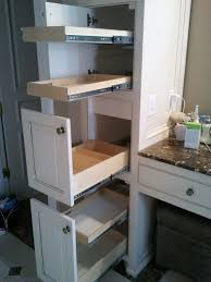 Pull Out Kitchen Shelves by Bathroom Cabinets Under Sink Tray Pull Out Pantry Shelves Under