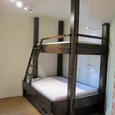 Wood For Building Bunk Beds by Best 25 Bunk Bed Rail Ideas On Pinterest Bunk Bed Sets Cabin