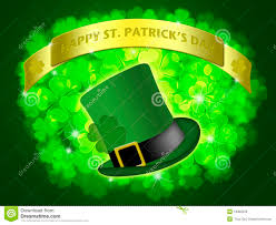 st patricks day shamrock u0026 leprechaun hat stock photo image 475970