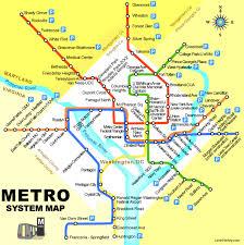 dc metro rail map northern virginia metro map virginia map