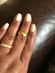 80s wedding band i vote to bring back plain yellow gold wedding bands weddingbee