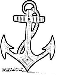 sketch of anchor coloring pages bulk color