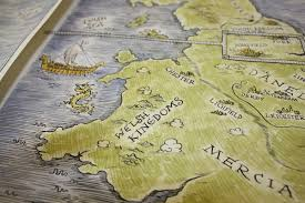 Viking Map Viking Map Illustration