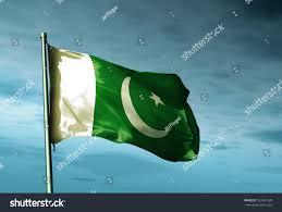 Oakistan Flag Pakistan Flag Waving On Wind Stock Illustration 159961928