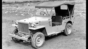 toyota jeep white toyota jeep bj prototype u002701 1951 u201352 youtube